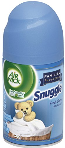 Air Wick Freshmatic Automatic Spray Air Freshener, Cool Linen and White Lilac Scent, 1 Refill, 6.17 Ounce