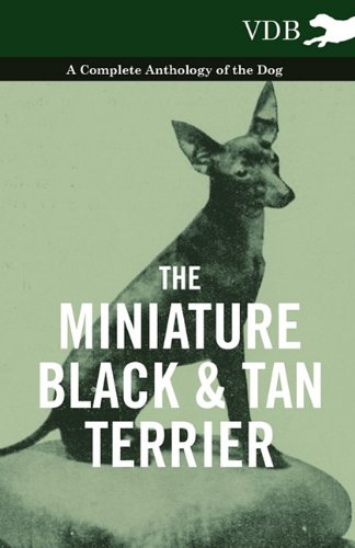 Read Online The Miniature Black and Tan Terrier - A Complete Anthology of the Dog pdf