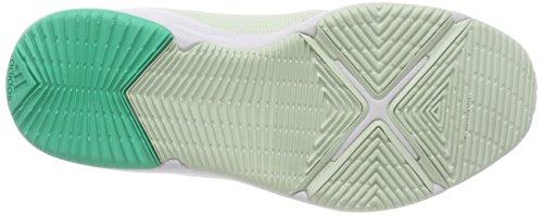Green White Fitness Metallic Chaussures Arianna silver Femme De aero footwear Vert Adidas Cloudfoam I7qx8