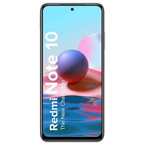 Redmi Note 10 (Frost White, 4GB RAM, 64GB Storage) – Super Amoled Display | 48MP Sony Sensor IMX582 | Snapdragon 678 Processor