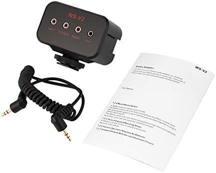 WS-VS - Adaptador para micrófono de Doble Canal con Zapata para ...