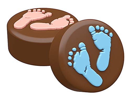 SpinningLeaf Baby Feet Oreo Cookie Chocolate Candy Mold ()