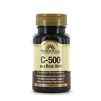 Vitamin C TABS 500MG R/H WMILL Size: 100