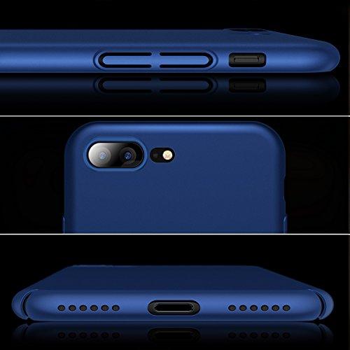 857ca39246 TORRAS iPhone8 Plus ケース iPhone7 Plus ケース 薄型【ガラスフィルム付き】アイフォン8プラス