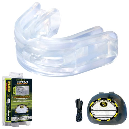 Brain Pad Double Laminated Strapless Mouthguard