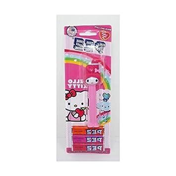 Hello Kitty con dispensador 3 por Pez bandeja para recambio en envase de plástico: Amazon.es: Hogar