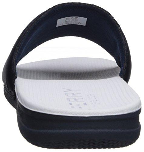 Sperry Top-sider Mens Intrepid Glid Sandal Marinblå / Vit