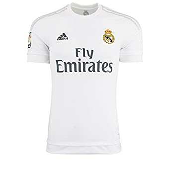 1e9d66c5c37 Select options to buy. Adidas Mens Real Madrid Home Replica Soccer Jersey