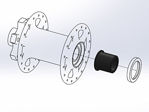 Wolf Tooth Boostinator DF3 Rear Hub Adaptor for 15x110mm Boost Forks and DT Swiss 350 Hubs