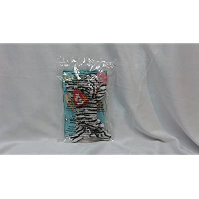 Blizz White Siberian Tiger - McDonald's Happy Meal Toy #10 Teenie Beanie Baby by Ty: Toys & Games