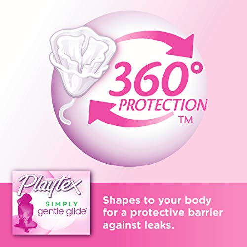 2 Playtex Multipack Unscented Absorbencies Packaging