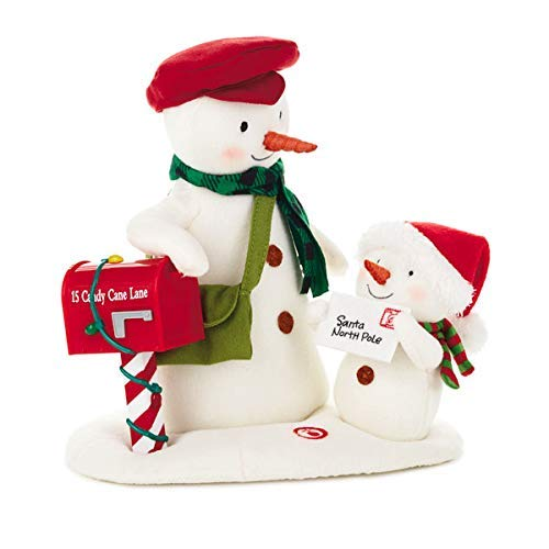 - Hallmark Special Delivery Singing Snowman Techno Plush