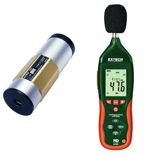 Extech Datalogging Sound Level Meter with Sound Calibrator by Extech
