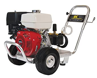 BE Pressure PE-4013HWPACOMZ Gas Powered Pressure Washer, GX390, 4000PSI, 4 GPM