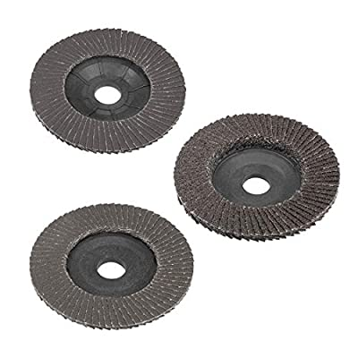 uxcell Flap Discs 72 Page Grinding Wheels Sand Papers for Angle Grinders