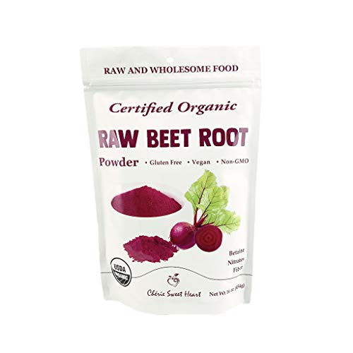 Organic Beet Root Powder (1 lb) by Chérie Sweet Heart, Raw & Non-GMO (1)