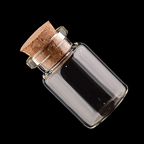 205f85a6b2f8 Amazon.com: ABULDAHI Jar Small - Glass Jars Message Vials Ornaments ...