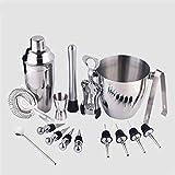Cocktail Shaker Set,Cocktail Schick Pot Shake Glass bar Bartending Tools, Grape Boutique Tea Small Wine Set