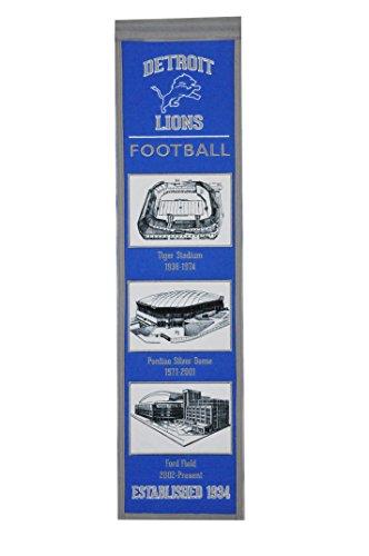 - Winning Streak NFL Detroit Lions Stadium Evolution Banner