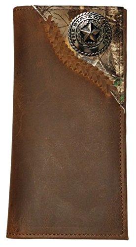 Corner long Custom Silver Texas Texas wallet Camo Custom Silver Seal xq8xZ4