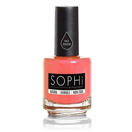 SOPHi Non-Toxic Nail Polish - Safe, Chemical Free - ROME-ance Me (Red Non Toxic Nail Polish compare prices)