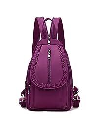Otwit Girls Convertible Small Nylon Backpack Purse Cross Body Sling Shoulder Bag