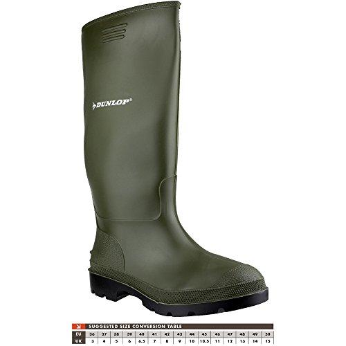 Dunlop - 380pp, Stivali di gomma Uomo - Verde, 46