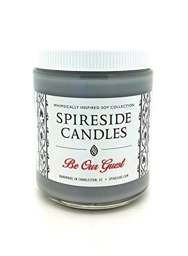 "Be Our Guest â""¢ Candle - Spireside Candles - Disney Candles - 8 oz Jar"