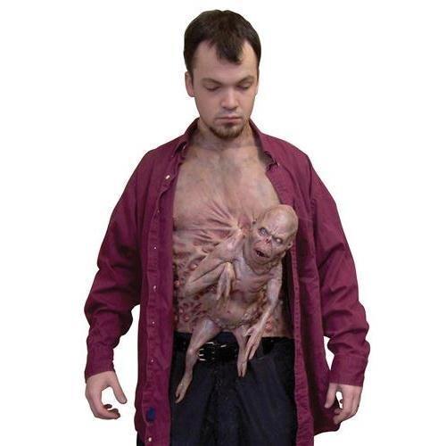 Morris Costumes Men's Little Brother Chest Piece -