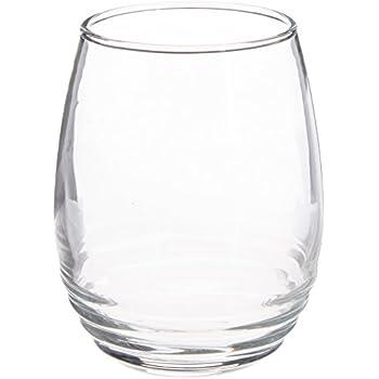 luminarc eminence stemless wine set of 4 11 oz clear wine glasses. Black Bedroom Furniture Sets. Home Design Ideas
