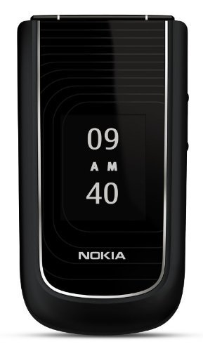 Nokia 3710 Unlocked Phone with 3.2 MP Camera and GPS--U.S. Version with Warranty (Black) (Certified Refurbished)