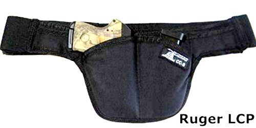 MONEY Pouch - Deep Concealed Possum Crotch Carry Handgun Holster SMALL size for small semi's the size of an LCP