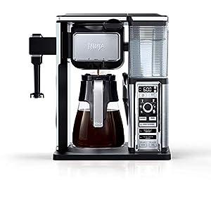 Amazon.com: Ninja CF097 Coffee Bar, Black/Silver (Renewed ...