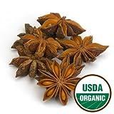 Anise Star Whole Organic - Illicium verum, 1 lb,(Starwest Botanicals)