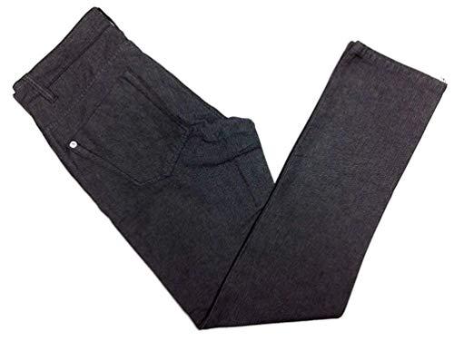 Calvin Klein Jeans Mens Herringbone 5 Pocket Slim Straight Pant (40x32, Black)