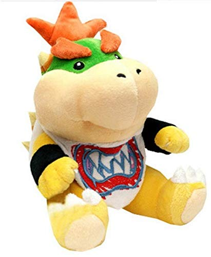 Big Croc (TM Super Mario Bowser Jr. Plush 7 inch Soft Bowser Plush Toy - Made of Soft Plush - Fluffy and Cuddly Durable - Good Choice (Bowser Jr Plush) by Big Croc