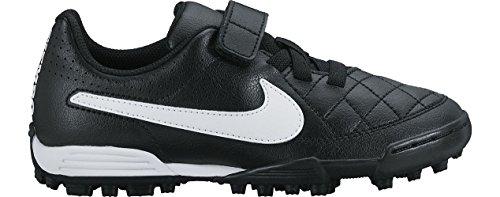Nike - JR Tiempo V4 TF - Color: Blanco-Negro - Size: 32.0