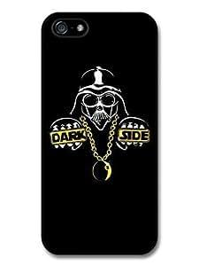 Accessories Darth Vader Star Wars Rapper Dark Side Funny Illustration Case For HTC One M7 Cover