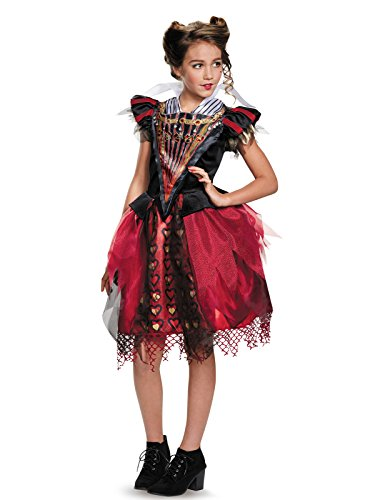 Disguise Red Queen Tween Alice Through The Looking Glass Movie Disney Costume, Large/10-12]()