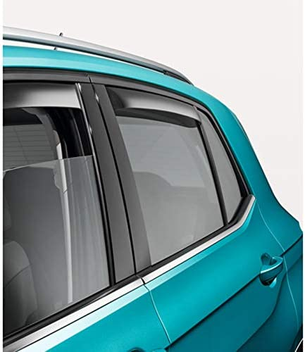 Volkswagen 2GM072194 Rear Wind Deflector Acrylic Glass Tinted Wind Shield