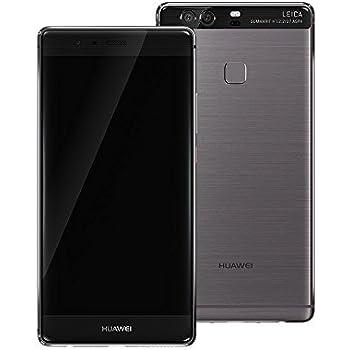 Huawei P9 Plus (P9+) VIE-L29 64GB 5.5 Inch 12 MP Dual SIM LTE Factory Unlocked - International Stock No Warranty (QUARTZ GREY)