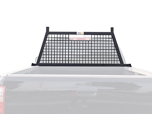 MaxxHaul 70234 Adjustable Black Headache Rack ()