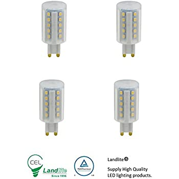 asd 5 watt g9 100v 110v 120v led light bulb pack of 5 50 watt replacement day white 6000k. Black Bedroom Furniture Sets. Home Design Ideas