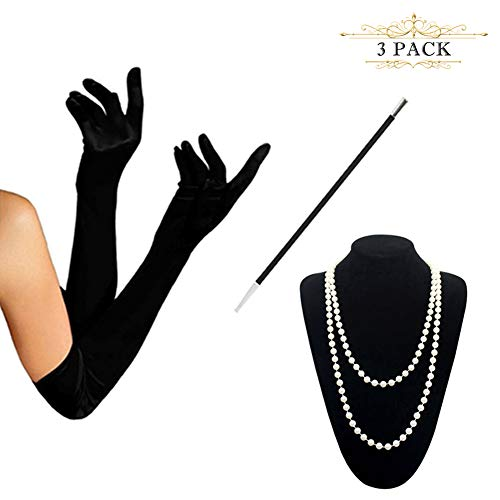 (HAMIST 1920s Accessories Set Flapper Costume for)