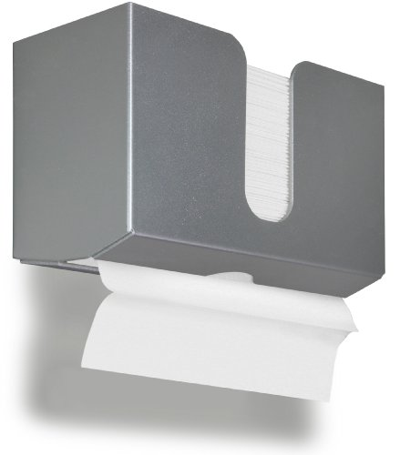 TrippNT 51917 PETG Dual-Dispensing Paper Towel Holder, 10 7/8