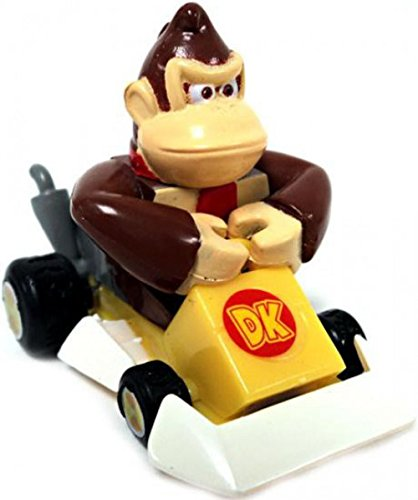 - Mario Kart DS Gashapon 1.5 Inch Pull Back Racer Donkey Kong Square Front Bumper