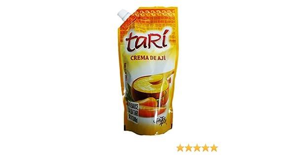 Tari Crema de Aji Amarilo / Pepper Cream Dip 400gr 5 Pack