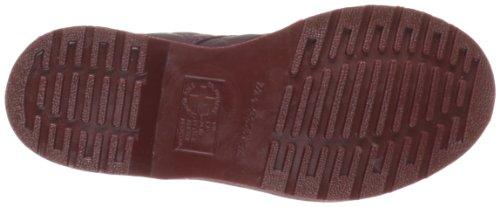 Dr Martens Coralie COD 1460 Cherry Red Mono Danio Bottines en cuir matelassée