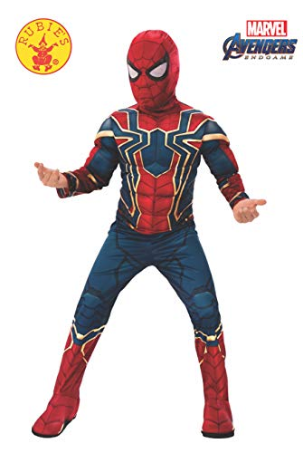 Epic Group Halloween Costumes (Rubie's Marvel: Avengers Endgame Child's Deluxe Iron Spider Costume & Mask,)