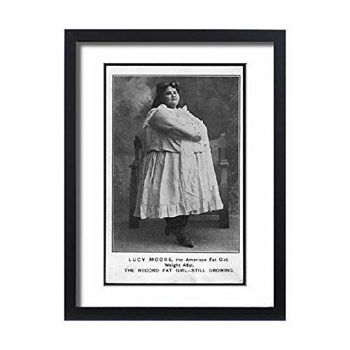 Framed 24X18 Print Of Fat Lucy Moore (596232) by Prints Prints Prints